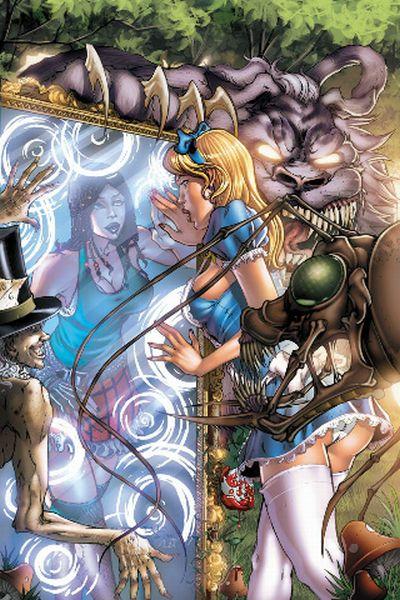 Sexy Alice in Wonderland Art