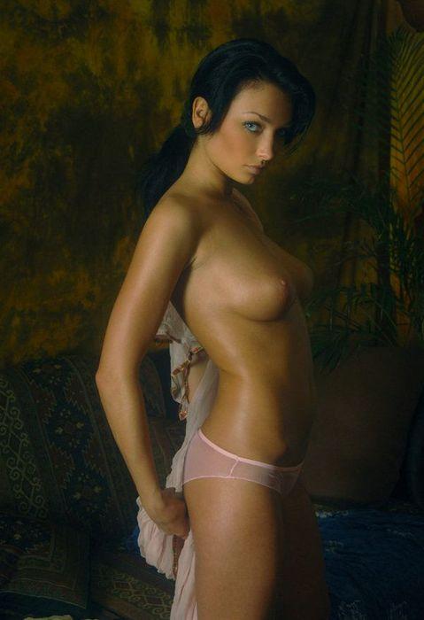 drunk naked busty girl